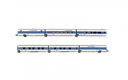 Grundset TALGO DB Ep.V InterCityNight 6.tlg. N 1:160 - 4310