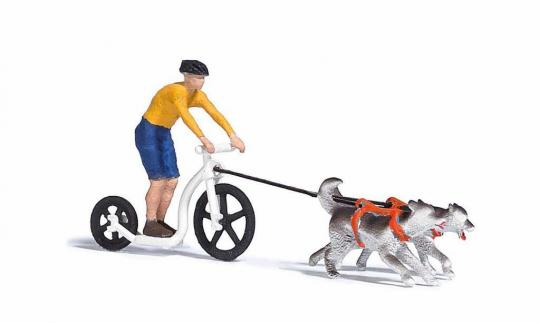 A-Set:Dogscooting H0 1:87 - 7814