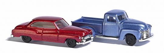 Chevy Pick up & Buick N 1:160 - 8349