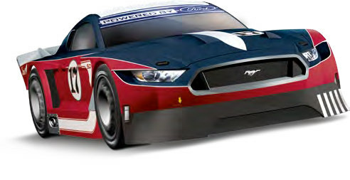 Ford Mustang GTY No.17 Evolution - 27636
