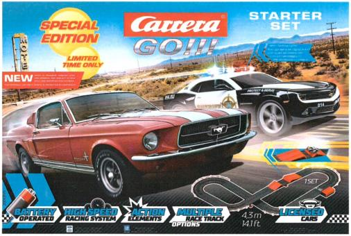 CARRERA Go!!! BATTERY OPERATED STARTER SET Go!!! - 63515