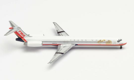 McDonnell Douglas MD-83 TWA - Trans World Airlines 1:500 - 533737