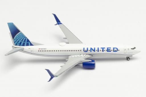 Boeing 737-800 United Air Lines - new 2019 colors 1:500 - 533744