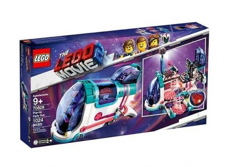 THE LEGO Movie 2 70828 Pop-Up-Party-Bus - 70828